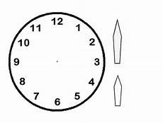 Ausmalbilder Uhr Mit Zeiger Kinderuhr Aus Papier Basteln Spielerisch Die Zeit Entdecken