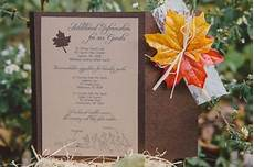 my diy fall wedding invitations weddingbee photo gallery