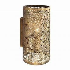 endon secret garden 1lt wall light 40w brass effect plate liminaires