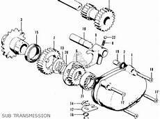 honda ct 70 k3 clutch assembly diagram honda ct90 trail 1969 k1 usa parts lists and schematics