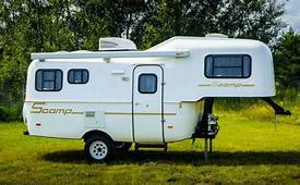 Deluxe But Lite 19 Fifth Wheel RV Travel Trailers  Scamp