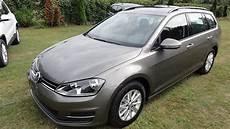Vw Golf Variant Limestone Grey Metallic Neu