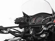 traversino manubrio moto supporto traversino manubrio per gps con lock