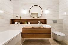 25 Wood And White Bathrooms For A Trendy Relaxing Shower