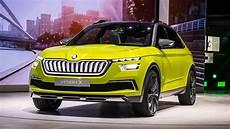 Geneva Motor Show 2018 Skoda Vision X Concept Hybrid