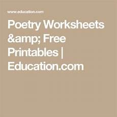 basic poetry worksheets 25244 poetry worksheets free printables education kindergarten worksheets free printables