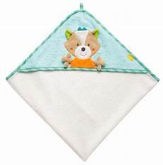 babyfehn baby handtuch mit kapuze fuchs badet 252 cher