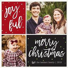 merry little grid holiday photo cards holiday cards merry