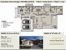 ranch style house plans australia 228 milly ranch style australian 4 bed garage 228 7
