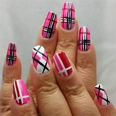 20 plaid nail art designs ideas design trends