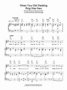 charles mccarthy when your old wedding ring was new at stanton s sheet music