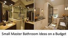 master bathrooms ideas awesome small master bathroom ideas on a budget