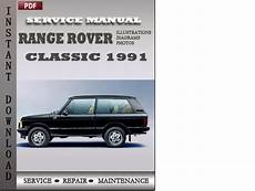 auto repair manual free download 1991 land rover sterling instrument cluster range rover classic 1991 factory service repair manual download d