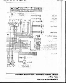 1993 Kawasaki Ex500 Wiring Diagram by Zx9r Electric Wiring Diagram Kawiforums Kawasaki