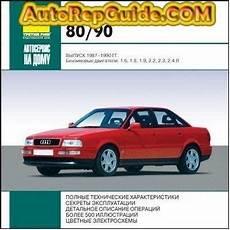 car repair manuals online free 1994 audi 90 download free audi 80 audi 90 1987 1990 repair manual multimedia image by autorepguide
