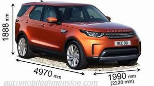 Land Rover Discovery 2017 Dimensions Boot Space And Interior