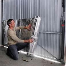 isolant porte de garage kit isolation porte de garage 1 rouleau 15 m 178 1
