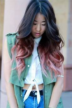 Dip Dye Hair Color