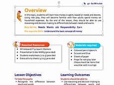 teaching money ks1 planning 2594 where money goes lesson plan for ks1 teaching resources