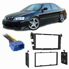 old car repair manuals 2003 acura tl navigation system fits acura tl 1999 2003 double din aftermarket harness radio install dash kit walmart com