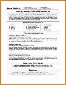 5 medical billing resume objective sle travel bill