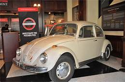 Ted Bundys VW Beetle Is Now A Museum Piece  The New York