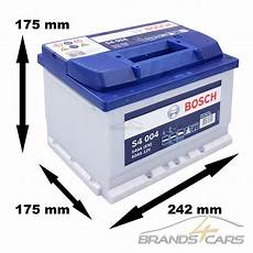 Bosch S4 004 60ah 540a 12v Autobatterie Starterbatterie