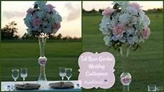 diy tall rose garden wedding centerpiece diy tall centerpieces diy tutorial youtube