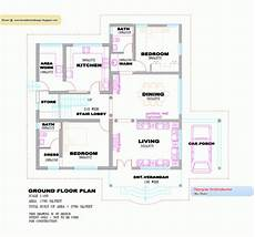 3 bedroom house plans kerala single floor 3 bedroom house plan kerala january 2020