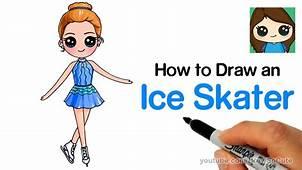 Chibi Ice Skater Drawing – Kids YouTube