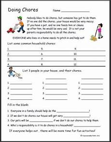 life skills doing chores by empowered by them tpt