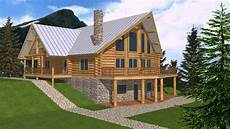 small mountain house plans with walkout basement see