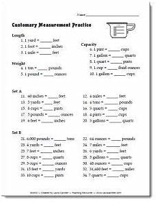 cooking measurement worksheets free 1982 39 best cooking with images on