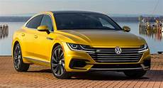2019 vw arteon 2019 vw arteon gets r line package debuts at ny auto show