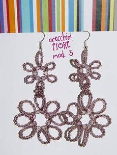 orecchini fiore orecchini fiore mod 3 gioielli orecchini di jhobbyes