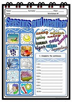 seasons time and weather worksheets 14867 seasons and weather worksheet free esl printable worksheets made by teachers
