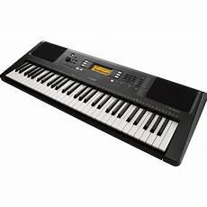 yamaha psr e363 touch sensitive portable keyboard psre363 b h