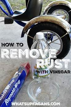 rost entfernen metall how to remove rust from a bicycle cleaning tips how to