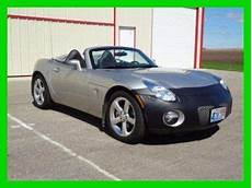 car owners manuals for sale 2006 pontiac solstice auto manual purchase used 2006 pontiac solstice 2 4l i4 16v manual rwd convertible leather cd silver in