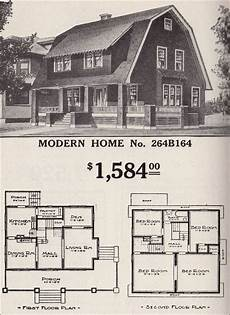 dutch colonial revival house plans dutch colonial revival sears modern home no 264b164
