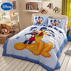 piumoni disney blue disney mickey mouse goofy bedding sets for
