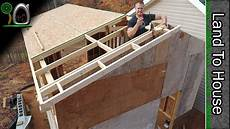 osb ladders and metal roofing build a workshop 12 youtube