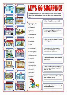 worksheets shopping 18462 shopping reading matching esl worksheets for distance learning and physical classrooms