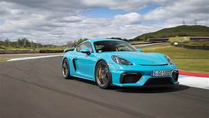 2020 Porsche 718 Cayman GT4 Track Drive Review  Autoblog