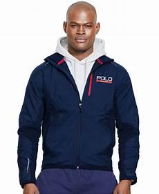 polo ralph fleece polo sport hybrid tech jacket in