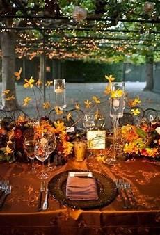 62 fall wedding tablescapes sun flower wedding
