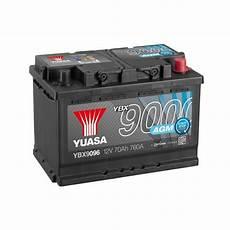 Batterie Agm Yuasa Ybx9096 12v 70ah 760a Agm Start Stop
