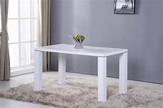 Table De Cuisine 130 Cm Rectangulaire Blanc Design Table