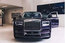 This 2018 Rolls Royce Phantom Is Purple On Purple