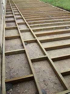 pose lambourde terrasse bois terrasse bois lambourdes